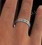 Eternity Ring Lauren Diamonds G/VS and Emerald 2.20CT - Platinum - image 4