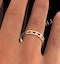 Eternity Ring Lauren Diamonds H/SI and Ruby 2.25CT in 18K Gold - image 4