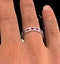 Eternity Ring Lauren Diamonds H/SI and Ruby 2.25CT - Platinum - image 4