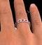 Eternity Ring Lauren Diamonds G/VS and Ruby 2.25CT - Platinum - image 4