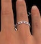 ETERNITY RING RAE DIAMONDS H/SI AND RUBY 1.30CT - Platinum - image 4
