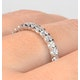 Eternity Ring Chloe 18K White Gold Diamond 1.00ct H/Si - image 4