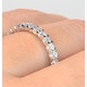 Eternity Ring Chloe Platinum Diamond 1.00ct G/Vs - image 4