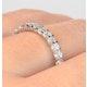 Eternity Ring Chloe 18K White Gold Diamond 1.00ct G/Vs - image 4