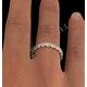 Eternity Ring Chloe 18K Gold Diamond 2.00ct H/Si - image 4