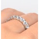 Eternity Ring Chloe 18K White Gold Diamond 2.00ct H/Si - image 4
