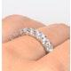 Eternity Ring Chloe 18K White Gold Diamond 2.00ct G/Vs - image 4
