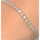3ct Diamond Tennis Bracelet Claw Set in 9K Yellow Gold - image 2