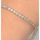 2ct Diamond Tennis Bracelet Claw Set in 9K Yellow Gold - image 2