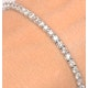 3ct Diamond Tennis Bracelet Claw Set in 9K White Gold - image 3