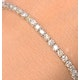 4ct Diamond Tennis Bracelet Claw Set in 9K Yellow Gold - image 3