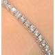 4ct Diamond Tennis Bracelet Claw Set in 9K White Gold - image 3