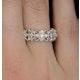 Diamond Eternity Ring - Trellis - 0.42ct set in 18K White Gold - N4520 - image 4