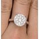 Diamond Galileo Ring 1CT Set in 18K White Gold - N4532Y - image 4