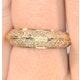 18K Gold Diamond Pave Ring 0.32ct H/si - image 4