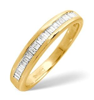 Grace Half Eternity Ring 0.25CT Diamond 9K Gold