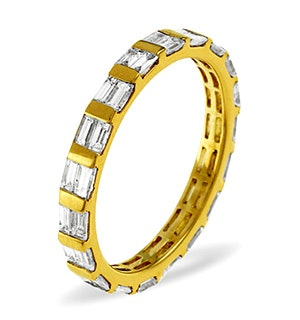 Eternity Ring Jessica 18K Gold Diamond 1.00ct H/Si