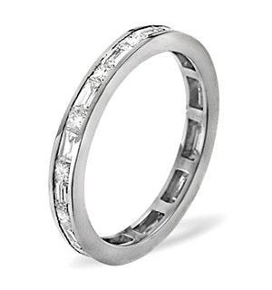 Eternity Ring Abigail 18K White Gold Diamond 1.00ct H/Si