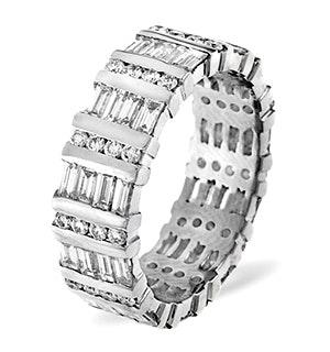 Mens 2ct G/Vs Diamond Platinum Full Band Ring  IHG48-422XUS