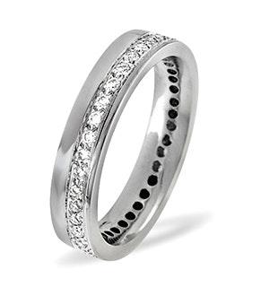Rae 18K White Gold Diamond Wedding Ring 0.27CT H/SI