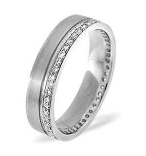 Chloe 18K White Gold Diamond Wedding Ring 0.27CT H/SI