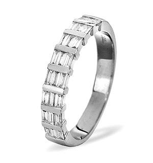 SKYE 18K White Gold Diamond ETERNITY RING 0.50CT H/SI