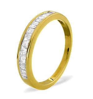Grace Half Eternity Ring 0.33CT Diamond 9K Yellow Gold