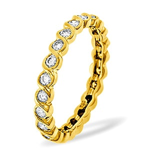 Eternity Ring Kiera 18K Gold Diamond 1.00ct H/Si