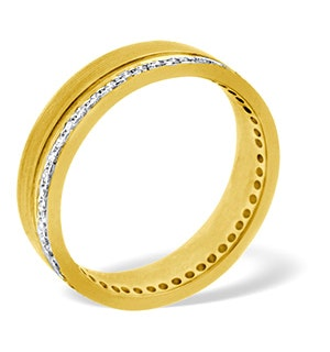 Mens 0.27ct G/Vs Diamond 18K Gold Dress Ring