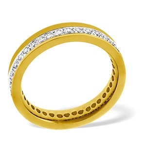 Emily 18K Gold Diamond Wedding Ring 0.38CT H/SI