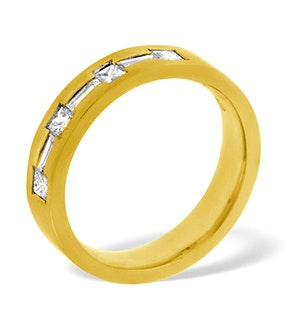 Katie 18K Gold Diamond Wedding Ring 0.49CT H/SI