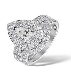 Matching Diamond Engagement - Wedding Ring 1.50ct SI 18K Gold