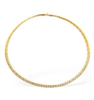 Diamond 5.25ct 18K Gold Necklace - RTC-EP2248