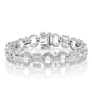 Everyday Bracelet 2.50CT Diamond 9K White Gold