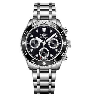Rotary Les Originales Legacy Ocean Chrono Swiss Gents Quartz Watch