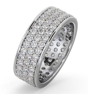 Eternity Ring Tia 18KW Diamond 2.00ct H/Si