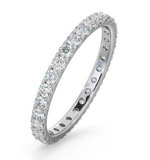 Eternity Ring Erin 18K White Gold Diamond 1.00ct H/Si