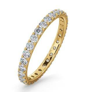 Eternity Ring Erin 18K Gold Diamond 1.00ct H/Si