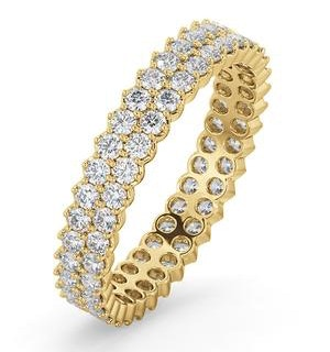 Eternity Ring Jasmine 18K Gold Diamond 1.00ct H/Si