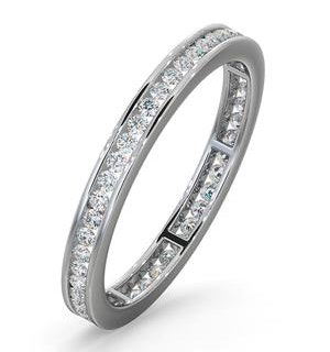 Diamond Eternity Ring Rae Channel Set 0.50ct H/Si in 18K White Gold