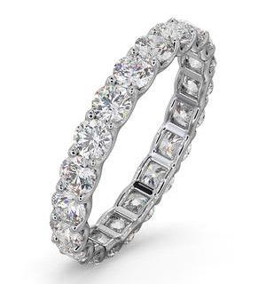 Mens 2ct H/Si Diamond 18K White Gold Full Band Ring  IHG34-422JUY