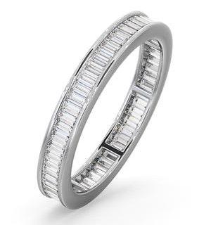 Eternity Ring Grace 18K White Gold Diamond 1.00ct H/Si