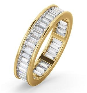 Mens 2ct G/Vs Diamond 18K Gold Full Band Ring  IHG45-422XUA