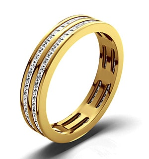 Eternity Ring Holly 18K Gold Diamond 1.00ct G/Vs