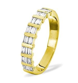 SKYE 18K Gold Diamond ETERNITY RING 0.50CT H/SI