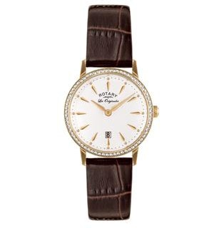 Rotary Les Originales Kensington Swiss Ladies Quartz Watch Black