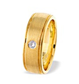 18K Gold Single Stone Diamond Ring (0.05ct)