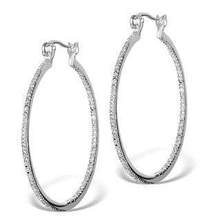 Diamond Hoop Earrings Thediamond Co Uk
