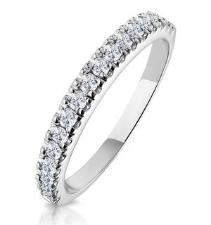 Jessica Matching Wedding Band 0.30ct H/Si Diamond  in 18K White Gold