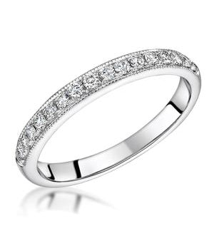 Danielle Matching 2.8mm Wedding Band 0.30ct H/Si Diamonds in 18KW Gold